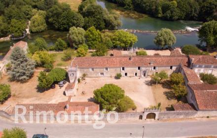 Apartments and homes  for sale in Jarnac, Charente, France